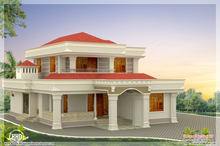 Gorgeous Simple Beautiful Houses Pictures | Home Design Indian House Photo Gallery Download Image