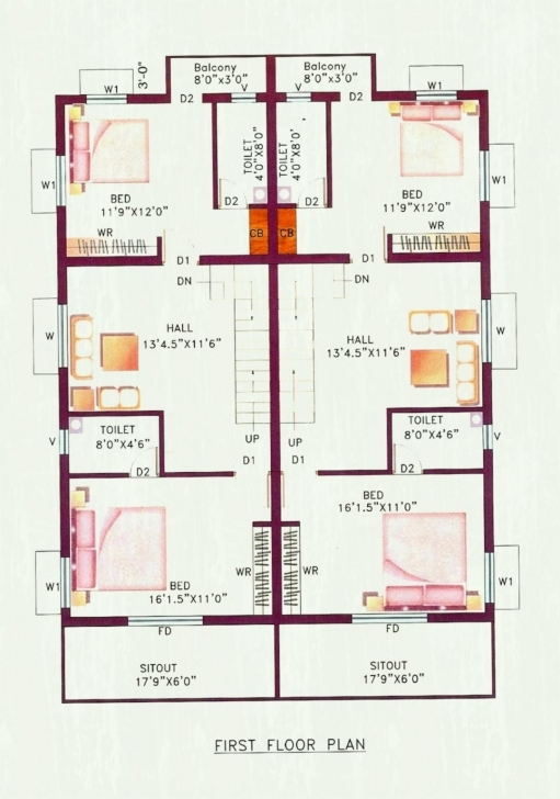 Gorgeous Surprising Free Small House Plans India In Layout Design Indian Free Small House Plans Indian Style Picture