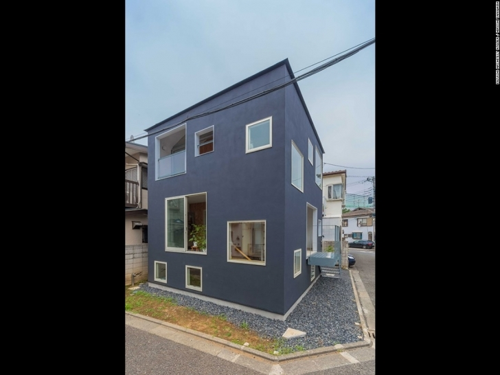 Gorgeous Tight Squeeze: Japan's Coolest Micro Homes - Cnn Style Pictures Of Houses On A Half Plot Of Land Picture