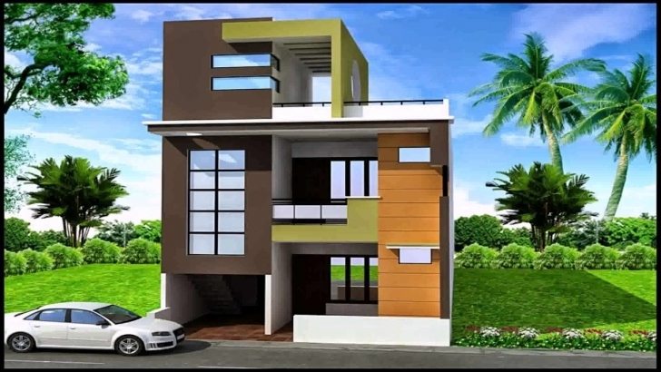 Great 20X30 House Plans South Facing - Youtube Front Elevation Of Indian House 30X50 Site South Facing Picture