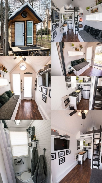 Great 2819 Best Small Houses & Tiny Spaces Images On Pinterest | Tiny Munda Tiny House Swoon Photo