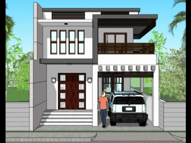 Great 3 Bedroom House Plans 1200 Sq Ft Unique Small Modern House Plans Small Modern House Plan And Elevation Image