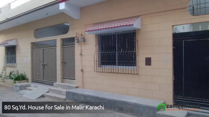 Great 80 Sq.yards House Inside Gated Community For Sale In Malir Karachi 100 Square Yard House For Sale Picture