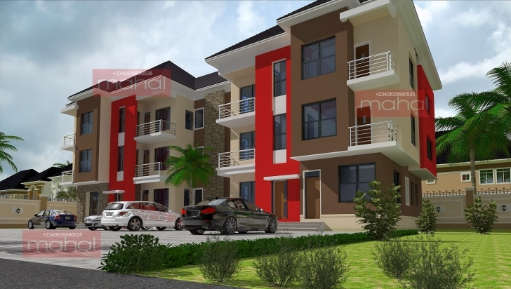 Great Contemporary Nigerian Residential Architecture: Azubie Town House Nigerian One Bedroom Apartment Pic