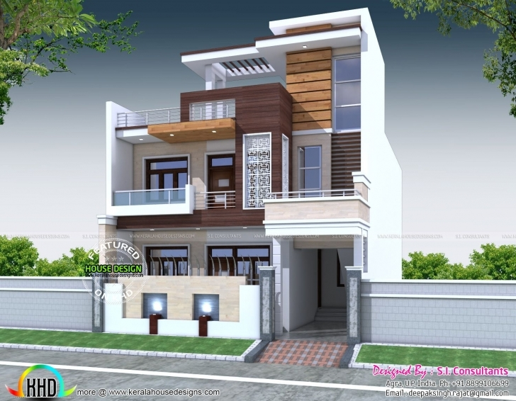 Great Decorative 5 Bedroom House Architecture | House Architecture 30X60 House Front Elevation Designs Photo