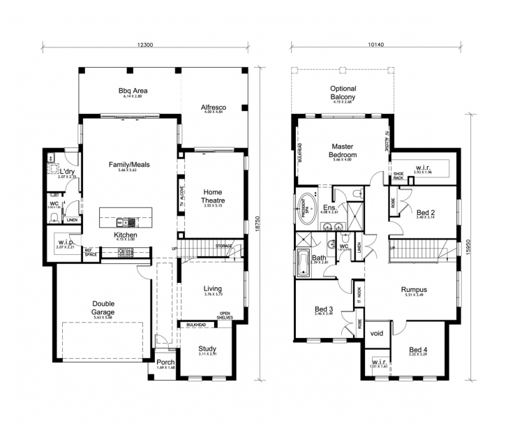 Great Home Architecture: House Plan Simple Double Story House Plans Double Storey House Plans Australia Picture