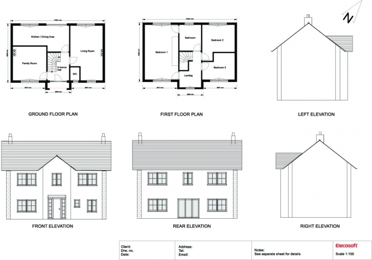 Great House Plan Elevation Drawings - House Plans Simple Plan Elevation Section Of Residential Building Pic