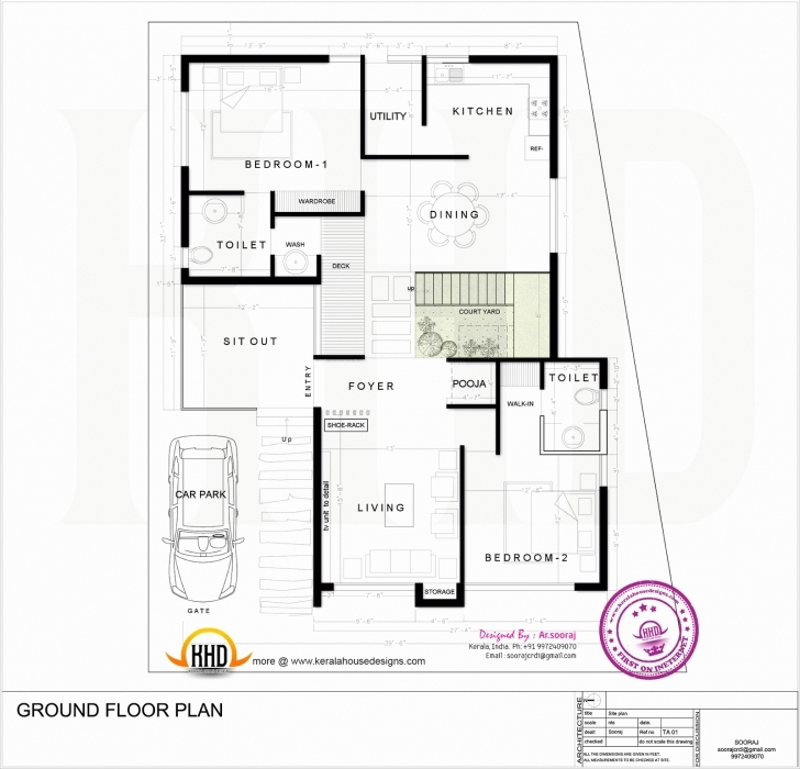 Great House Plans 1200 To 1500 Sq Ft - Gebrichmond 1200 Sq Ft House Plan With Car Parking Image