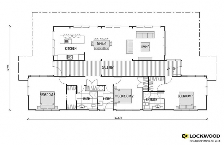Great Pavilion - House Plans New Zealand | House Designs Nz | Timber Homes 3 Bedroom House Plans Nz Pic