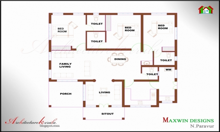Great Simple 1 Storey House Plans Lovely Bold Inspiration 8 Single Storey Simple 4 Bedroom House Plans Kerala Picture