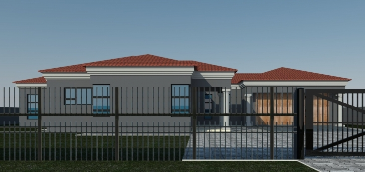 Image of 12 Tuscan House Plans In Polokwane 4 Bedroom Limpopo Neat Design Modern House Plans In Polokwane Pic