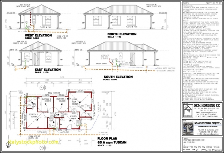 Image of 3 Bedroom 2 Bathroom House Plans South Africa | House For Rent Near Me Small 2 Bedroom House Plans South Africa Image