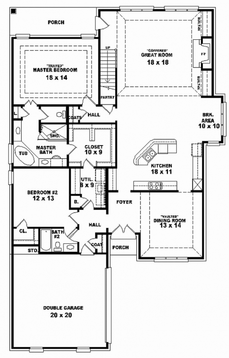 Image of 50 Unique Stock 3 Bedroom House Plans On Half Plot Of Land - Home 3 Bedroom House Plan On Half Plot Of Land Image