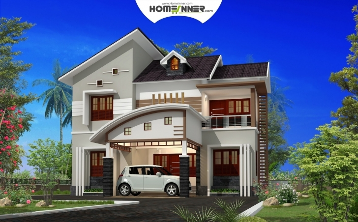 Image of Attractive 4 Bhk Small Budget Indian House Plan - Murshidabad Home Small Indian House Images Image