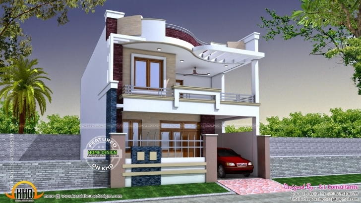 Image of Best Of Indian Modern House Plans With Photos Gallery - Home Design New Home Designs 2018 India Image