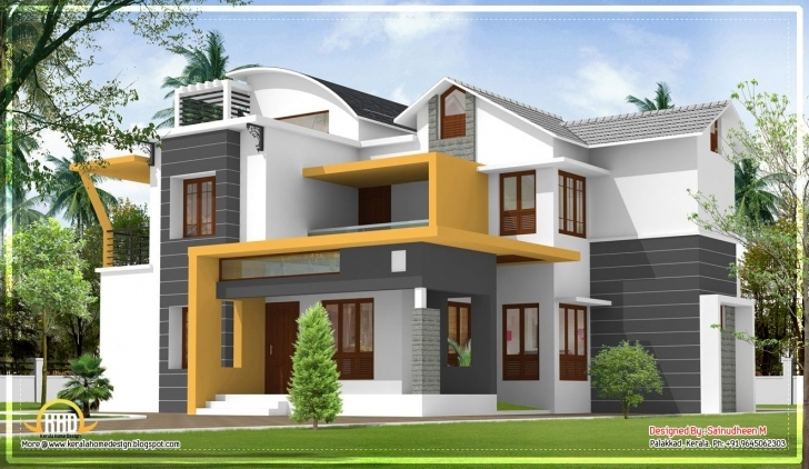 Image of Design : House Plans Kerala Home Design Info On Paying For Home Modern House In Kerala Image