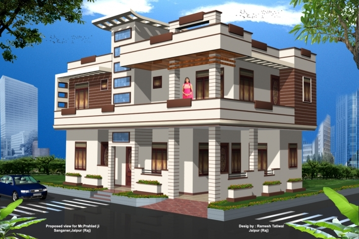 Image of Front Elevation Pictures Of Houses In Pakistan | The Base Wallpaper Simple Front Elevation Of House Picture