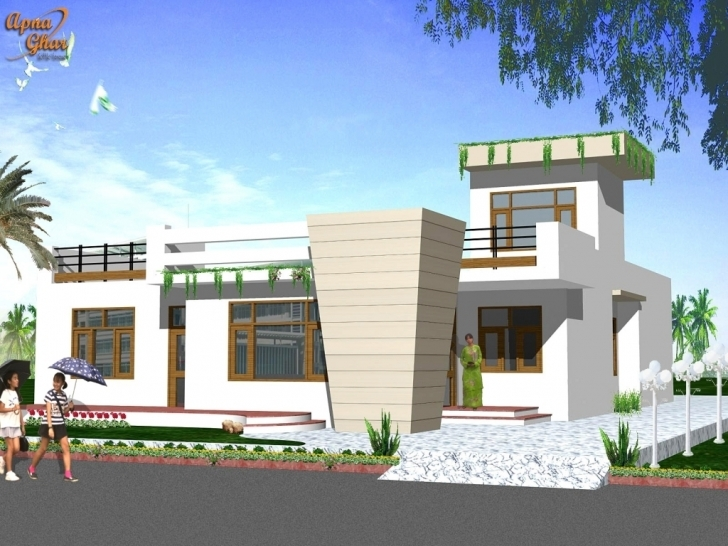 Image of Home Design Elevation Ground Floor Homes Zone Ideas For Of House Front Elevation Of House Ground Floor Image