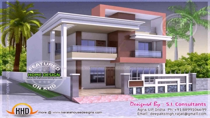 Image of House Front Design Indian Style - Youtube Home Front Design Photo In India Photo