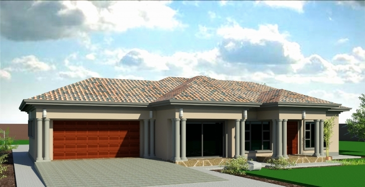 Image of Inspirational 4 Bedroom House Plans In Gauteng - House Plan 3 Bedroom Tuscan House Plans In Limpopo Pic