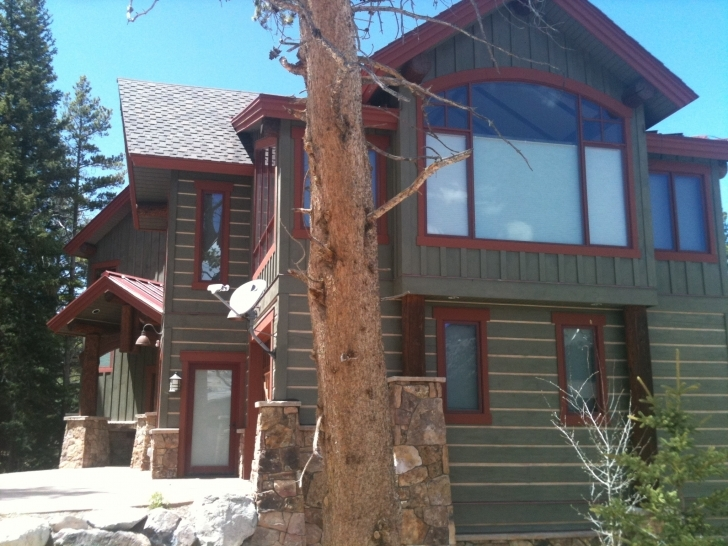Image of Log Home Staining | Drcustompainting Painted Log Homes Exterior Image