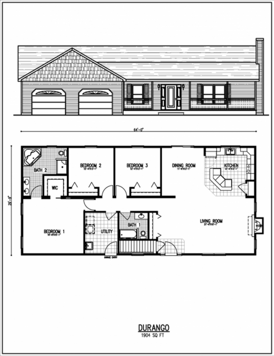 Image of Low Budget Modern Bedroom House Design At Home Ideas Plan Plans Bath Low Budget Modern 3 Bedroom House Design Floor Plan Photo