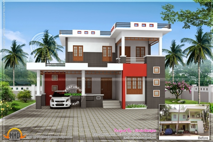 Image of News And Article Online: Renovation 3D Model For An Old House 3D House Model Kerala Pic