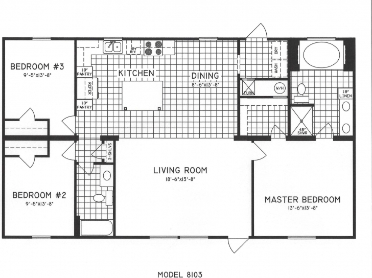 Image of Simple One Story 2 Bedroom House Plans New 3 Bedroom House Plans E Simple One Story 3 Bedroom House Plans Photo