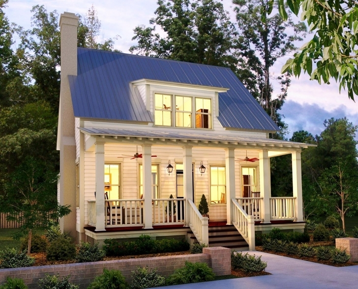 Image of White Country House Plans With Interior Photos — Simple House Plans Country House Plans Image