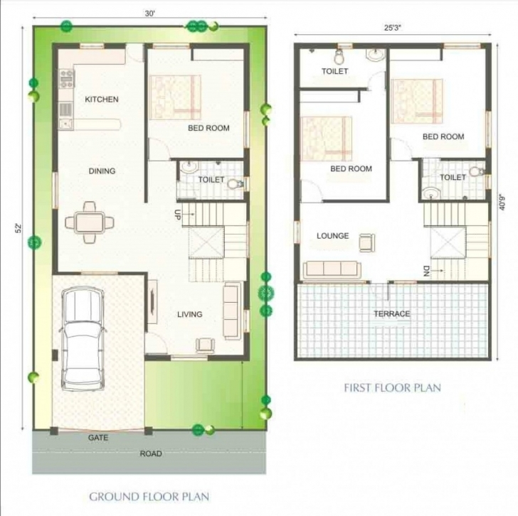 Incredible 30×40 House Plans India Lovely Home Design Plans 25 40 - Geyahg 25 40 House Plan India Picture