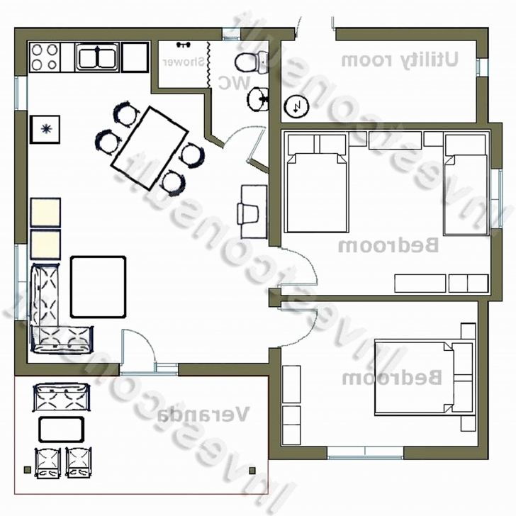 Incredible 50 Awesome Collection 2 Bedroom House Plan In South Africa - Home 2 Bedroom Modern House Plans South Africa Photo
