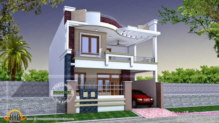 Incredible Baby Nursery ~ Astonishing Four Style House Designs Kerala Home 16Ft Front Desing For Home Photo
