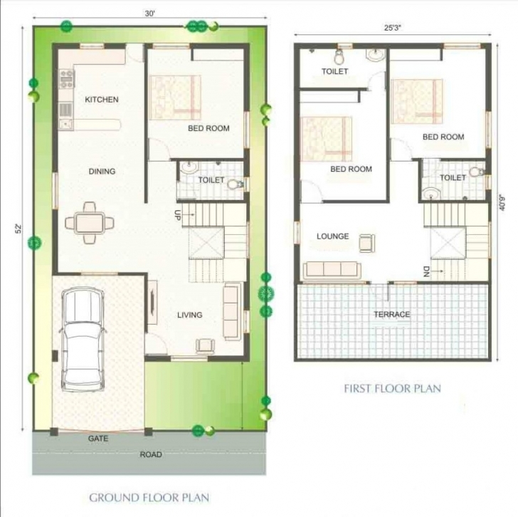 Incredible Duplex House Plans India 900 Sq Ft | Arquitectura Planos Casas 1000 Sq Ft Duplex House Plans Indian Style Picture