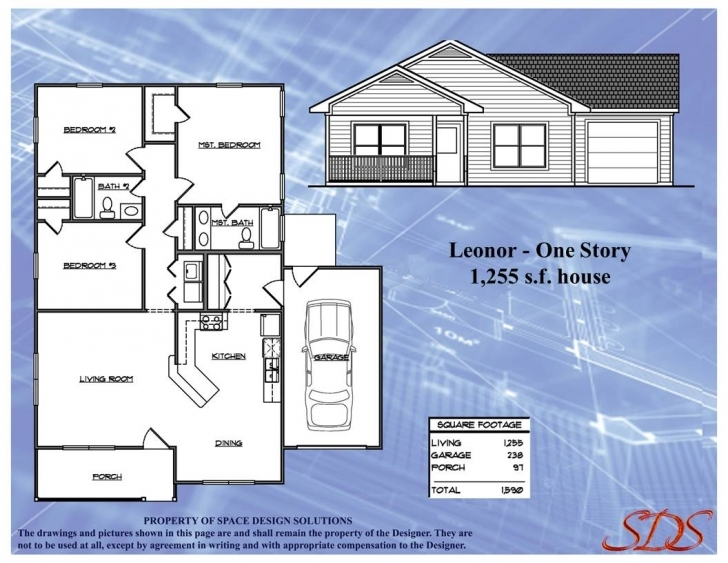Incredible House Plans / Blueprints For Sale | Space Design Solutions House Plans For Sale Image