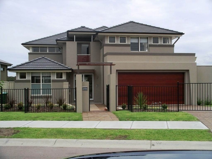 Incredible Mix And Match Exterior Paint Color Combinations Tips Indian House Extrior Colour Pic