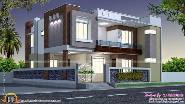 Incredible Modern Style Indian Home Kerala Design Floor Plans - Dma Homes | #10288 Modern Indian House Pic Pic