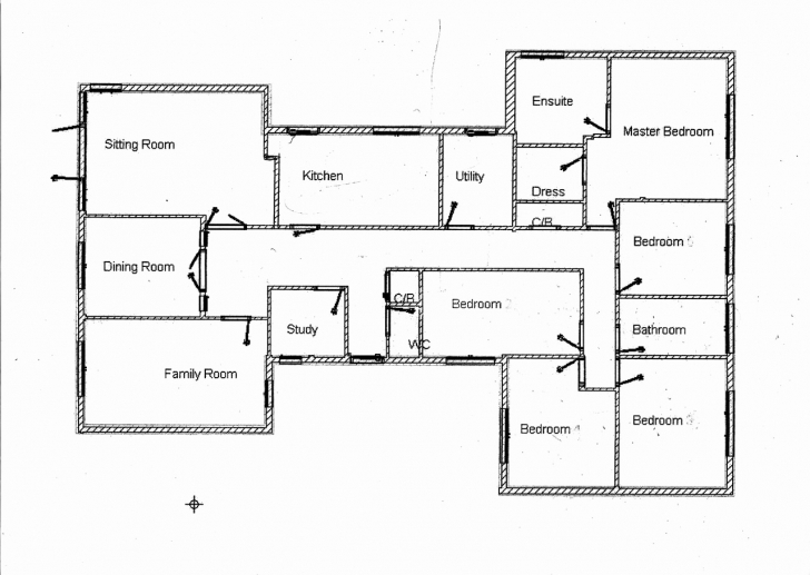 Incredible New Collection 6 Bedroom Bungalow House Plans In Nigeria - Home Architectural Plan For A 5 Bedroom Bungalow Image