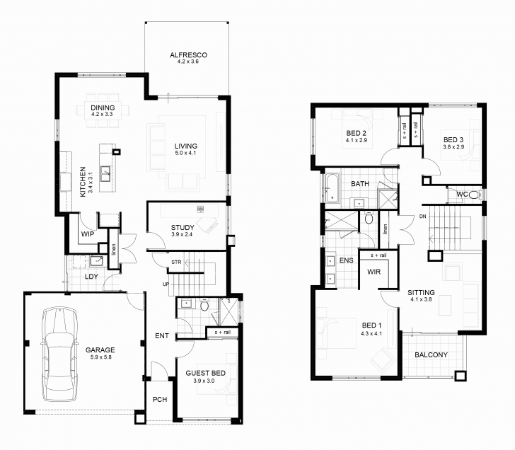 Incredible Nigerian Double Storey House Plans Best Of Storey House Plans In 2 Storey Building Plan In Nigeria Image