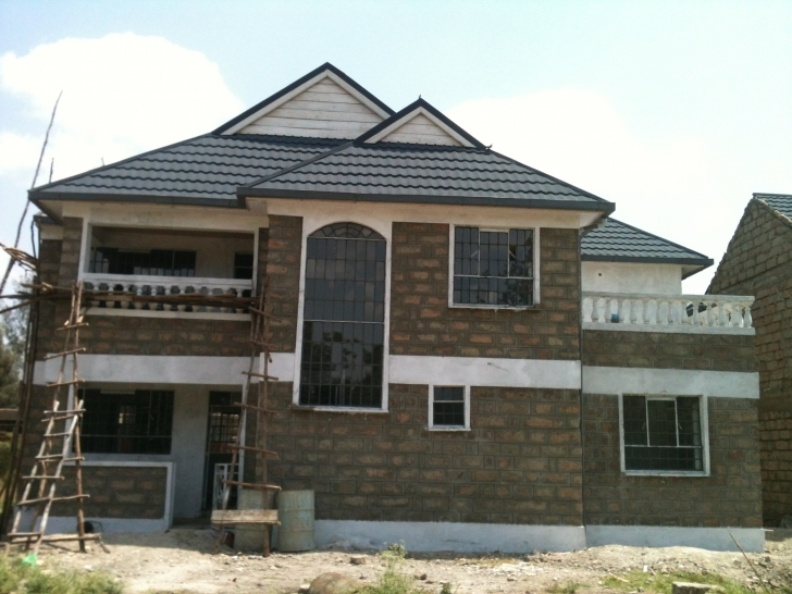 Incredible Pretentious Idea 13 Simple House Plans Designs Kenya 4 Bedroom And 4 Bedroom Modern House Plans In Kenya Picture