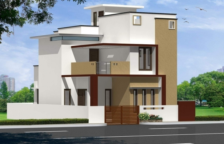 Front Elevation Designs For West Facing House : House front elevation designs for single floor west facing