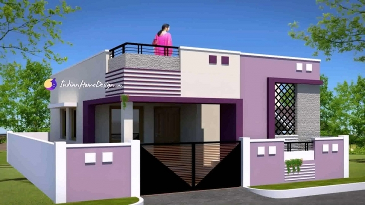 Incredible Small Indian Village House Design - Youtube Small Indian House Images Pic