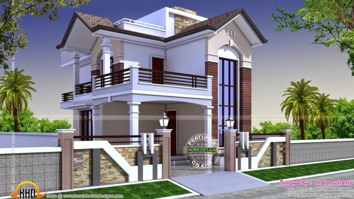 Incredible Square Feet Small Double Storied House - House Plans | #25981 House Design 2017 With Floor Plan Image