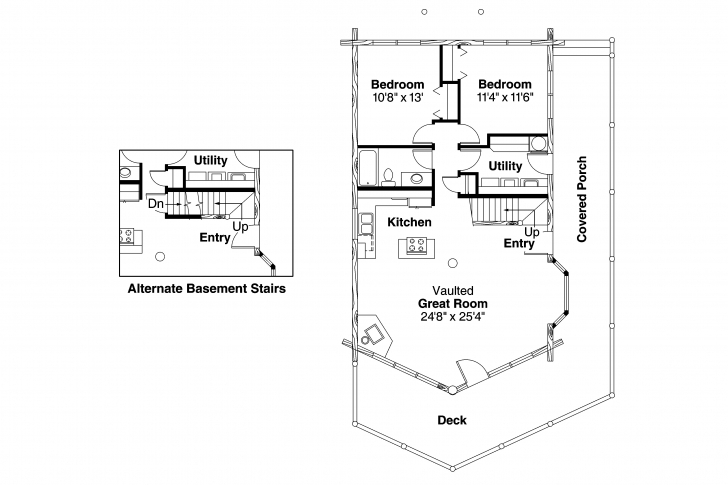 Incredible T Felevame House Plans Small Modern With Walkout Basement Garage A Frame House Plans Cost Photo