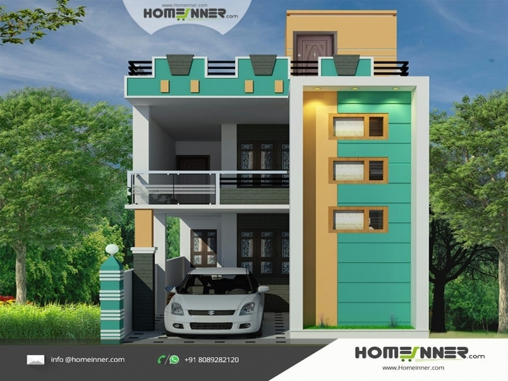 Incredible Tamil Nadu Style 3D House Elevation Design House Elevation Hd Pic Photo