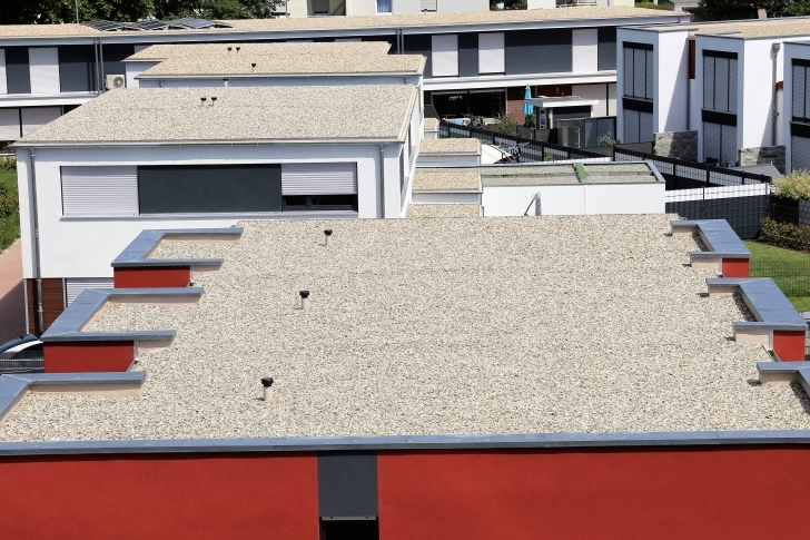 Incredible The Most Common Problems With Flat Roofs | Statewide Roofing Repair Problems With Flat Roofed Houses Photo