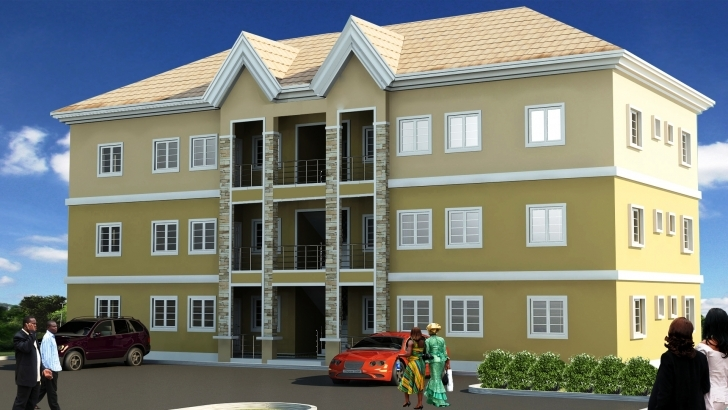 Inspirational 3 Bedroom Flat For Sale At Apdc Capital Estate. How Many Blocks Can Build Three Bedroom Flat Picture