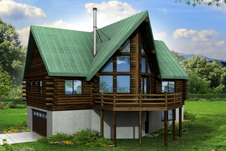 Inspirational A-Frame House Plans - Eagle Rock 30-919 - Associated Designs A Frame House Plans With Garage Underneath Photo