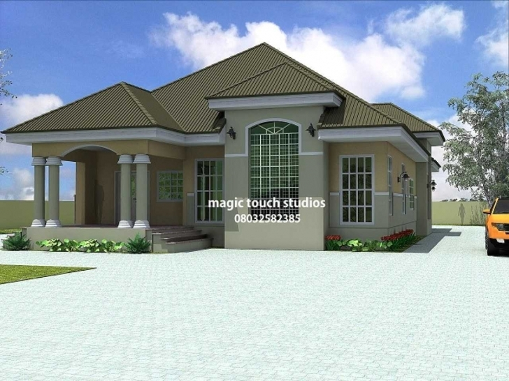 Inspirational Modern House Plans In Ghana Best Of 5 Bedroom Bungalow House Plan In Latest Bungalow In Ghana Com Pic