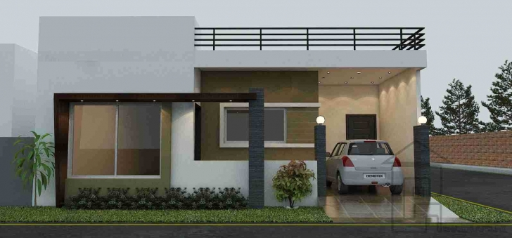 Inspirational Outstanding Single Floor House Front View Designs With Storey Design Single Floor House Front Elevation Designs Photo