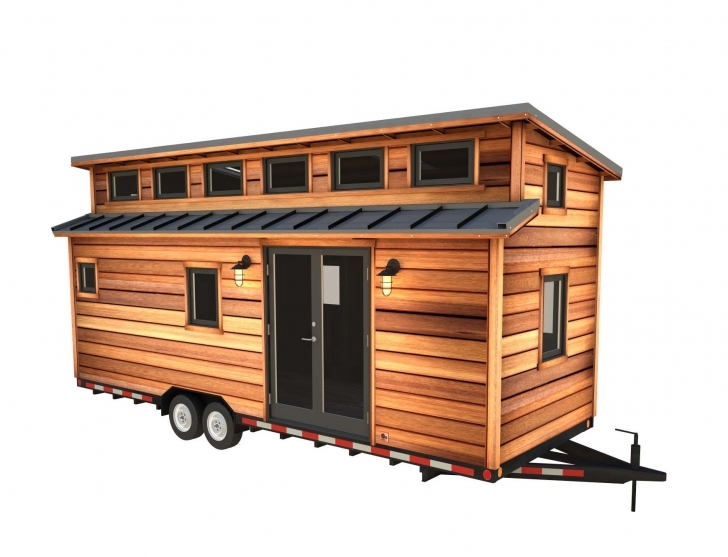 Inspirational The Cider Box: Modern Tiny House Plans For Your Home On Wheels Tiny House Plans Image